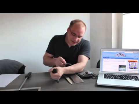 china gadgets im test bei gadgetwelt heute der samurai shark messersch rfer youtube. Black Bedroom Furniture Sets. Home Design Ideas