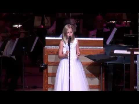 Jackie Evancho:  Angel at her 2011 Summer Concert Tour in Atlanta.