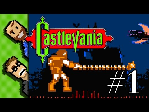 How to beat Big Bat & Medusa - Let's Play Castlevania on the NES | The Basement [Ep 1]