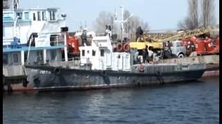 видео Київський річковий порт і вокзал