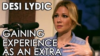 Desi Lydic Gaining Acting Experience As An Extra