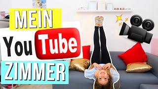 ROOMTOUR 🐥 ich zeige EUCH mein YouTube Zimmer! Roomtour 2017