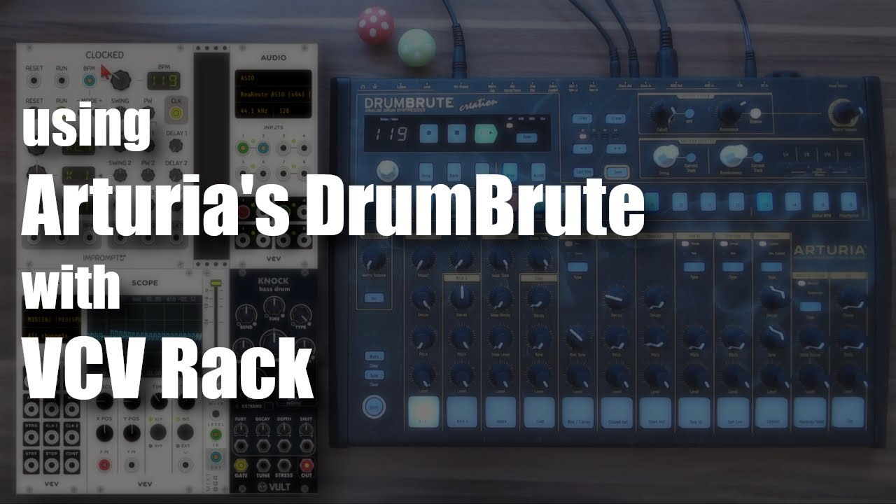 DrumBrute with VCV Rack – Omri Cohen Music