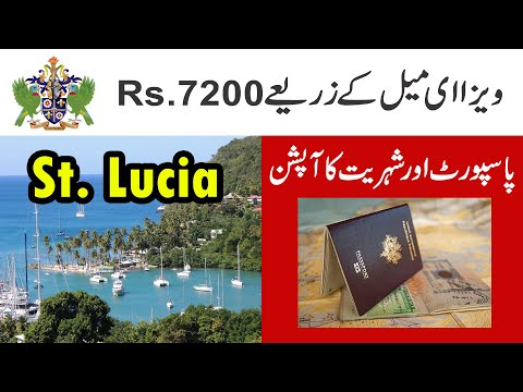 St Lucia Visa By Email || Saint Lucia Citizenship Options In 2020 Hindi And Urdu