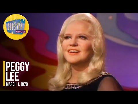 "Peggy Lee ""Something"" on The Ed Sullivan Show"