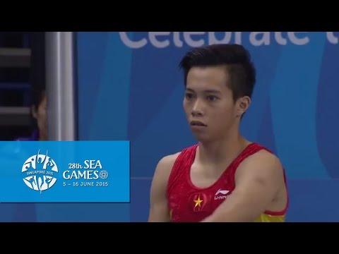 Gymnastics Artistic Men's Vault Final (Day 5) | 28th SEA Games Singapore 2015