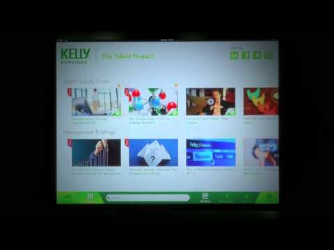 Kelly Services Inc. Introduces The Talent Project iPad App