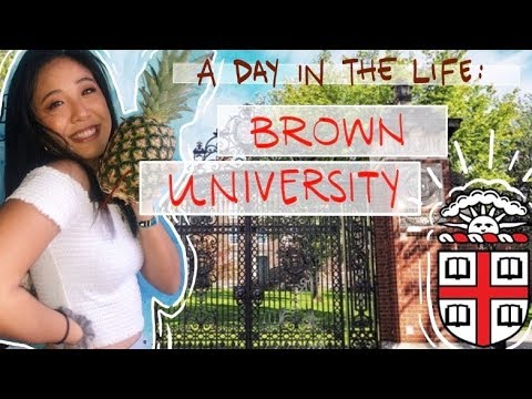 Day in the Life: Brown University :)!!
