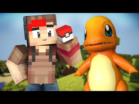Pokemon GO - CHARMANDER, I CHOOSE YOU !! (Minecraft Pokemon GO Roleplay) #1