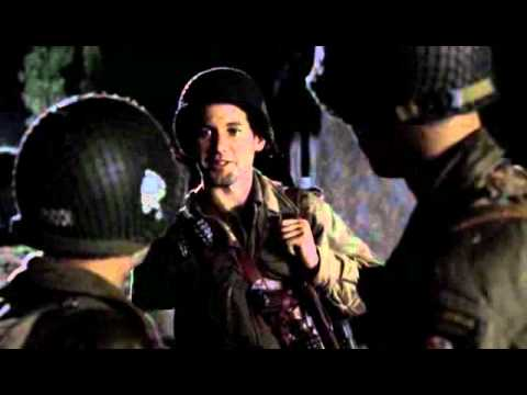 band of brothers - nunca habia probado el chocolate.