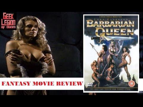 BARBARIAN QUEEN ( 1985 Lana Clarkson ) Amazon Warrior Fantasy Movie Review