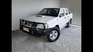 4×4 Turbo Diesel Dual Cab Ute Nissan Navara D22 ST-R 2010 Review For Sale