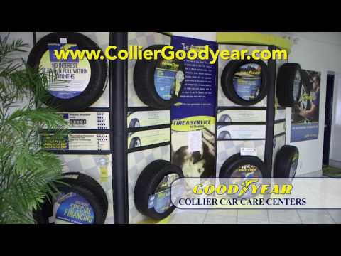 Tire Services At Collier Goodyear Car Care Center