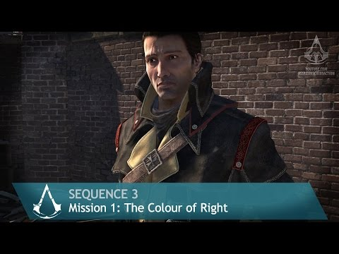 Assassin's Creed: Rogue - Mission 1: The Color of Right - Sequence 3 [100% Sync]