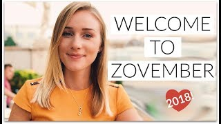 Welcome to ZOVEMBER!