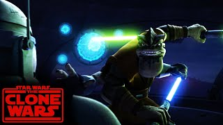 Pong Krell fights vs Clones and then is executed | Star Wars: The Clone Wars Umbara Story Arc