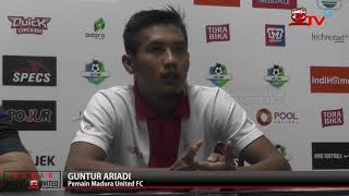 PRE MATCH PRESS CONFERENCE MADURA UNITED FC vs PERSIJA JAKARTA
