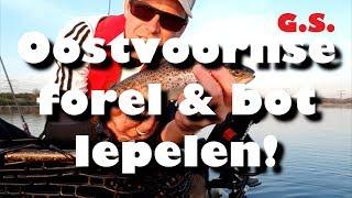 Oostvoornse meer: forel en bot lepelen (English subtitles)