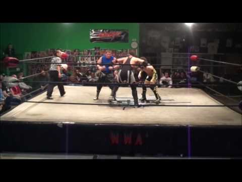 WWA4 Chris Henry vs. John Mavrik vs. Austin Towers - Triple Threat Match 2/9/2017