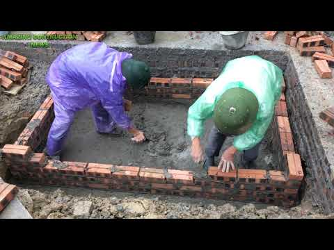 How To Build An Accurate Creative Septic Tank - Engineering To Build A Toilet Waste Tank