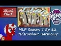 "[Blind Commentary] ""Discordant Harmony"" - My Little Pony: FiM S7 E12"