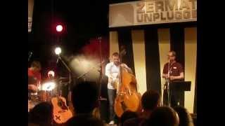 """Clueso & Bernewitz Trio live Zermatt Unplugged """"DÜNNES EIS"""""""