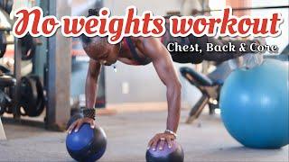 No weights Workout