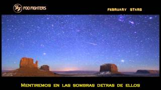 Foo Fighters - February Stars - [ Sub.  Español ]