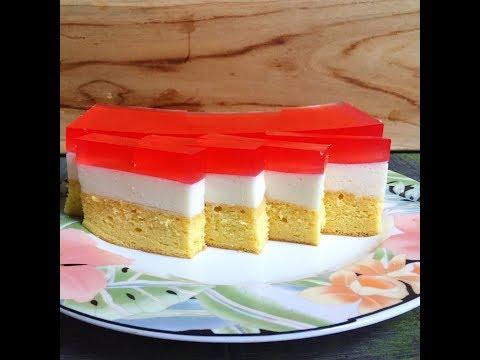 resep cake puding busa | lembut dan enak
