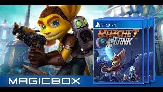 Ratchet & Clank PS4 тест драйв