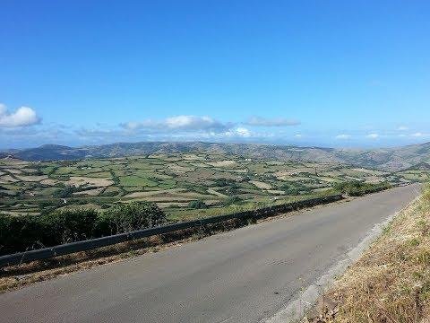 Sardinia video SS 127 Mountain ridge road