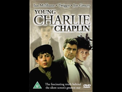 YOUNG CHARLIE CHAPLIN  Ian McShane, Twiggy, Joe Greary  complete miniseries  1989