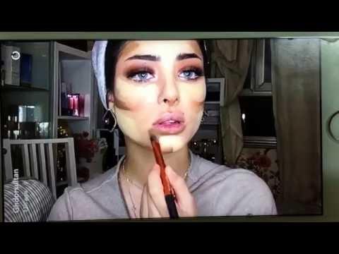 مكياج خبيرة التجميل الكويتية غدير سلطان Arab makeup tutorial