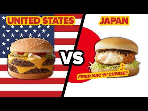 American Vs. Japanese McDonalds