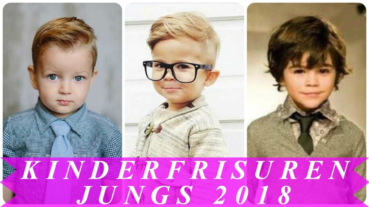 Coole Frisuren Fur Kleine Jungs 2018 Youtube