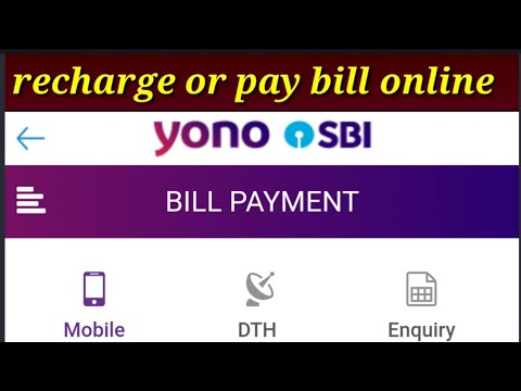 Yono SBI Recharge Mobile ! How To Recharge Mobile Online!