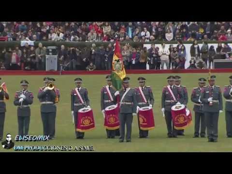 BANDA MILITAR  DEL EJERCITO DEL ESTADO PLURINACIONAL DE BOLIVIA 2016,
