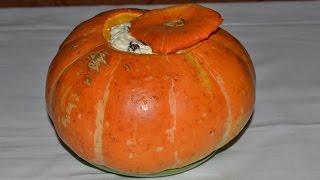 Запеченная тыква в духовке с творогом и изюмом. Готовим блюда из тыквы. ПОЛЕЗНЫЕ СОВЕТЫ MIX