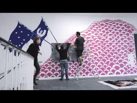Making of: Eko Nugroho, NICHT POLITIK, SONDERN SCHICKSAL, 2015 // Frankfurter Kunstverein