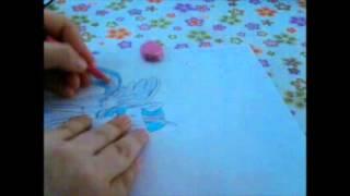 Resimci Kız - My Little Pony Twilight Sparkle'ın Çizimi