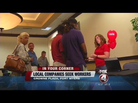 Fox 4 sponsors mega job fair in Fort Myers