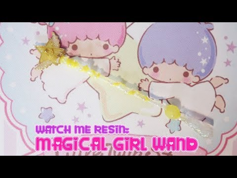 UV Resin DIY: Magical Girl Wand-Sophie and Toffee [Wizarding] Tutorial🎀Miwako🎀