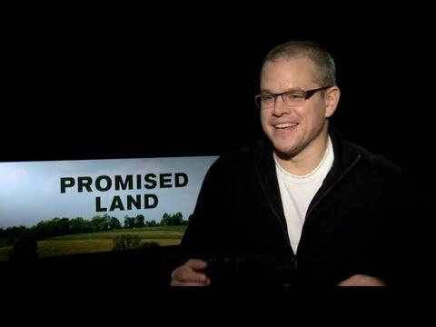 PROMISED LAND Interviews: Matt Damon and John Krasinski