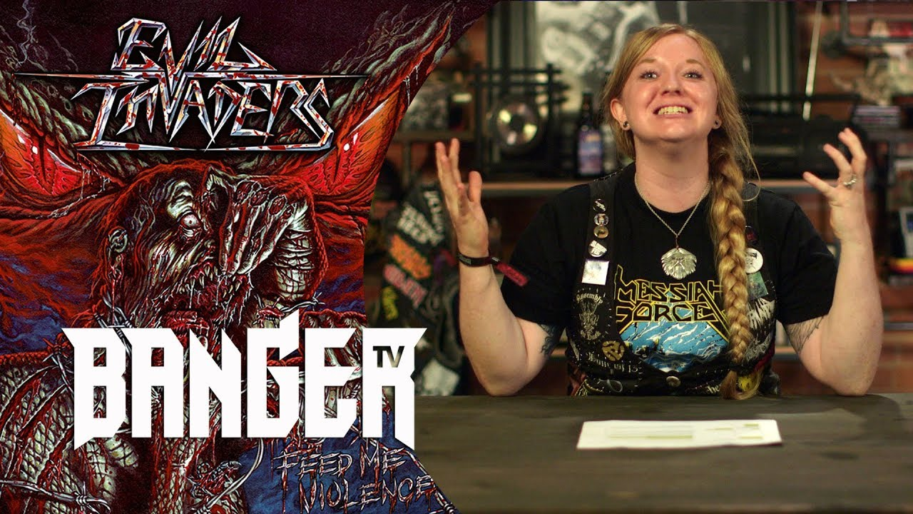 EVIL INVADERS Feed Me Violence | Overkill Reviews episode thumbnail