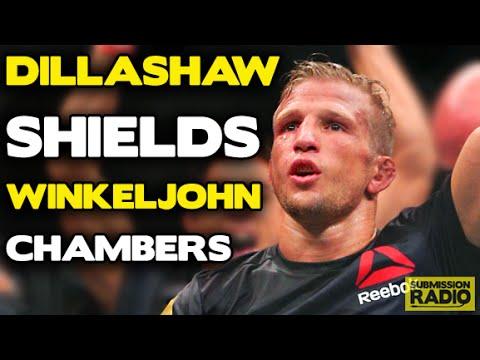 Submission Radio #60 TJ Dillashaw, Jake Shields, Alex Chambers, Coach Wink + UFC 190 & WSOF 22