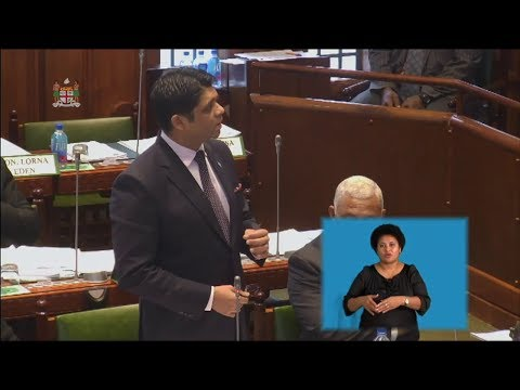 Fijian Attorney General informs Parliament on Fiji's Reserves, Borrowing and Investment