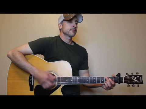 Most People Are Good - Luke Bryan - Guitar Lesson | Tutorial