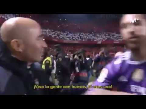 The phrase that changed the face of Jorge Sampaoli