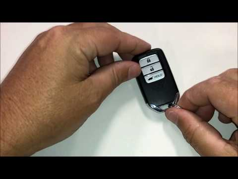 How to Replace the Battery in a 2019 Honda CRV Key Remote