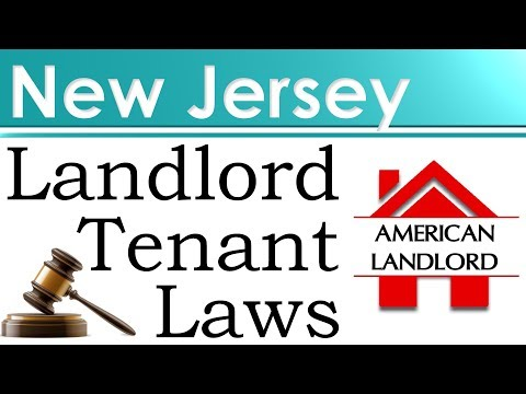 New Jersey Landlord Tenant Laws | American Landlord